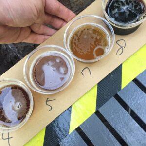 けやきひろば春のビール祭り2019 サンクトガーレン ストロベリーシェイク