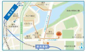 横浜アンパンマンこどもミュージアム 地図 アクセス
