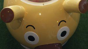 横浜アンパンマンこどもミュージアム リニューアルオープン チーズバケット号