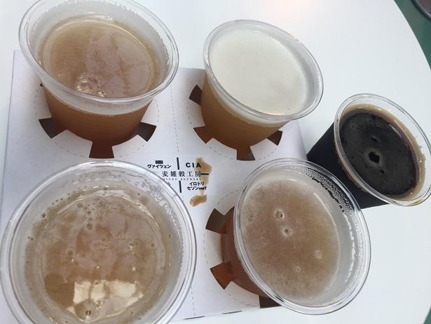けやきひろば秋のビール祭り2019 麦雑穀工房マイクロブルワリー