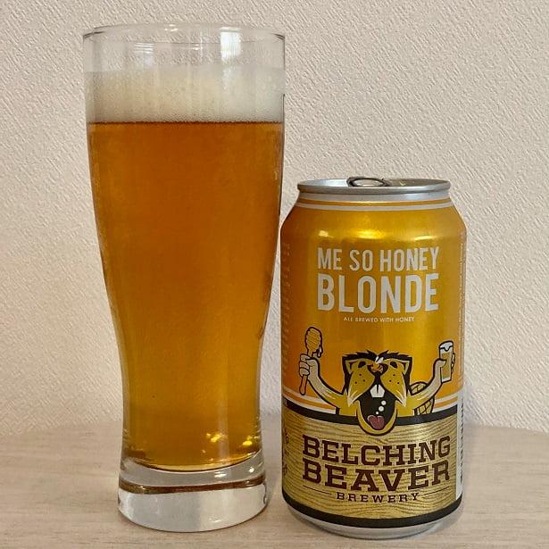 ベルチングビーバー  ミーソーハニーブロンド/Belching Beaver Me So Honey Blonde Ale