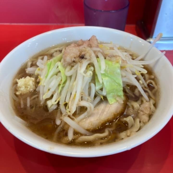麺屋桐龍[きりゅう](東川口) ミニらーめん(720円)