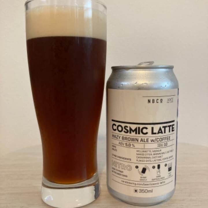 奈良醸造(Nara Brewing) コズミックラテ/COSMIC LATTE