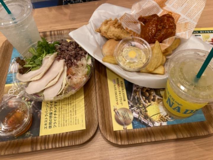 【オリーブチキンがおいしい】bb.qオリーブチキンカフェ イオンモール川口店(鳩ヶ谷)