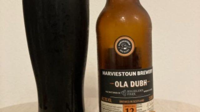 オーラ・ドゥ スペシャルリザーブ12/Harviestoun Ola Dubh Special reserve 12